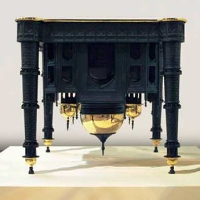 The Taj Mahal table