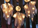 Halloween Lighted Hanging Haunted Ghosts Decoration