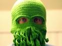 Crochet Cthulhu Ski Mask
