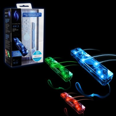 Wii U Afterglow Controller with Motion Plus
