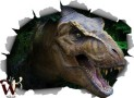 T-Rex Wall Skin Decor