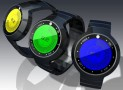 UV Index LCD Watch Design With Touch Screen