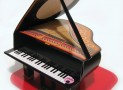 Piano Pop Up Melody Greeting Card