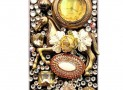 Crystal Jewelled iPhone 5 'Pocket Watch' Case