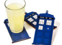 Doctor Who TARDIS Coasters