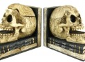 Celtic Knotwork Human Skull Bookends