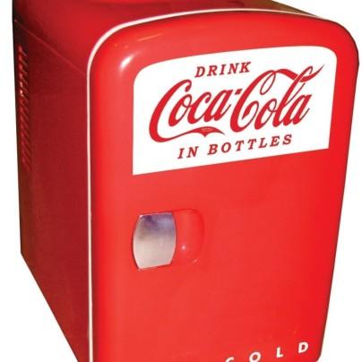 Coca-Cola Personal 6-Can Mini Fridge